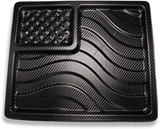 product image for We The People Holsters - American Flag EDC Kydex Dump Tray - Valet Tray for Men - EDC Organizer and Catch-All for Everyday Carry - Keys - Change - Phone (Carbon Fiber)