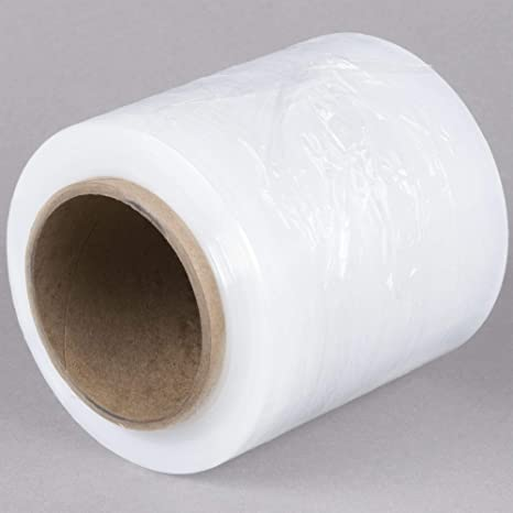 WOD SBW-80 Heavy Duty Hand Stretch Film Wrap 80 Gauge Thick with Dispenser -