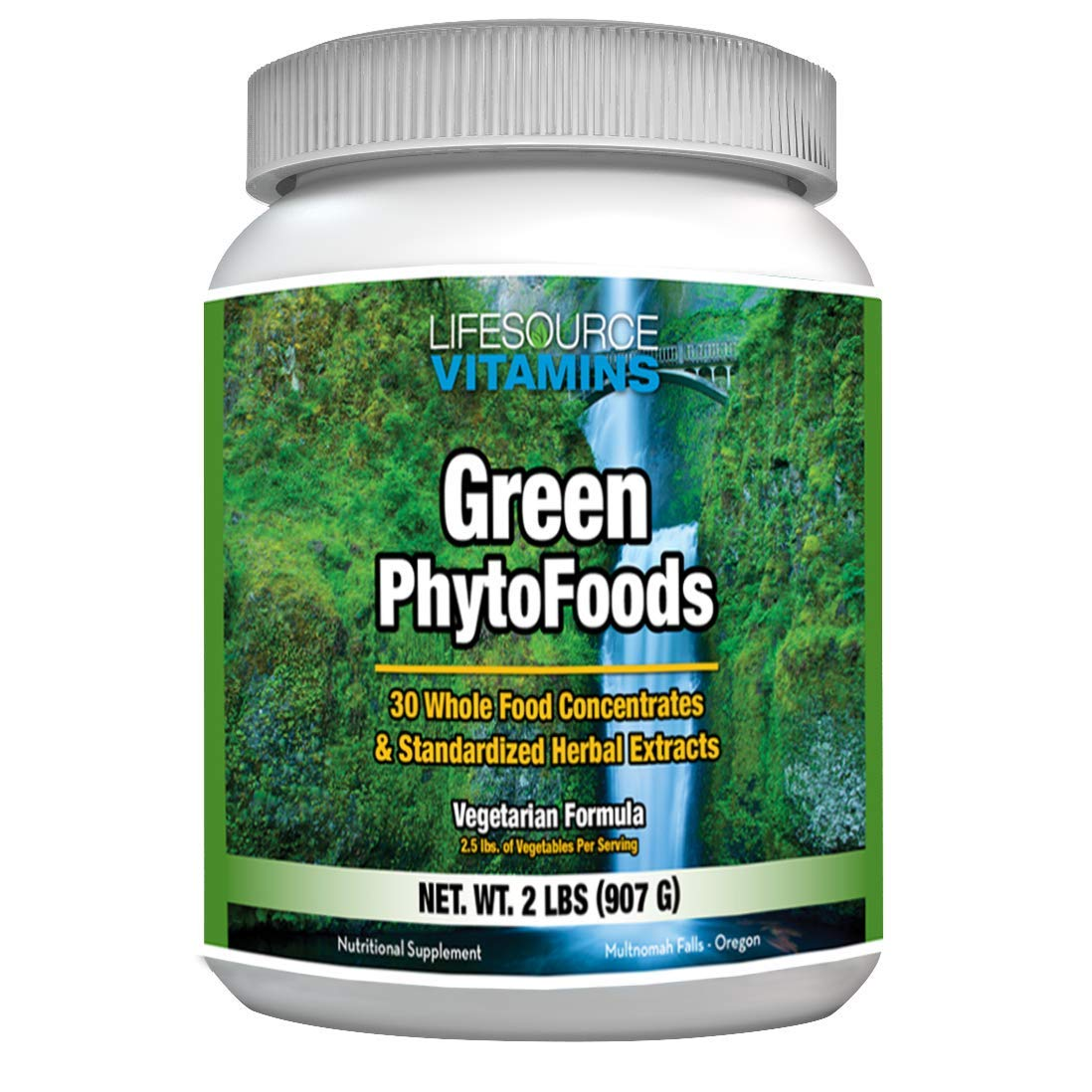 LifeSource Vitamins Green Phyto Foods 2 lb Powder
