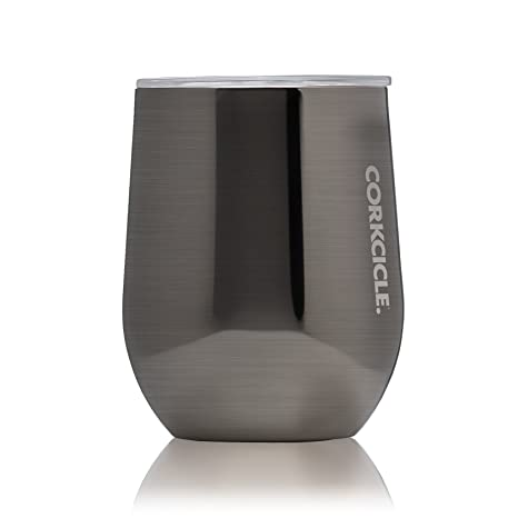 0571dd5b164 Amazon.com | Corkcicle 12 oz Triple-Insulated Stemless Glass ...