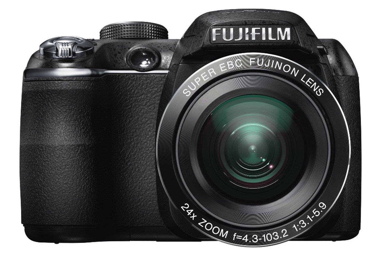 FUJIFILM デジタルカメラ FinePix S3200 ブラック  F FX-S3200 1400万画素 広角24mm 光学24倍 3型液晶 フルHD   B004KZQMIA
