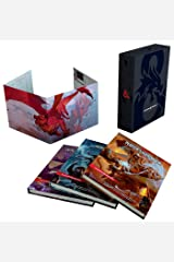Dungeons & Dragons Core Rulebooks Gift Set (Special Foil Covers Edition with Slipcase, Player's Handbook, Dungeon Master's Guide, Monster Manual, DM Screen) Hardcover