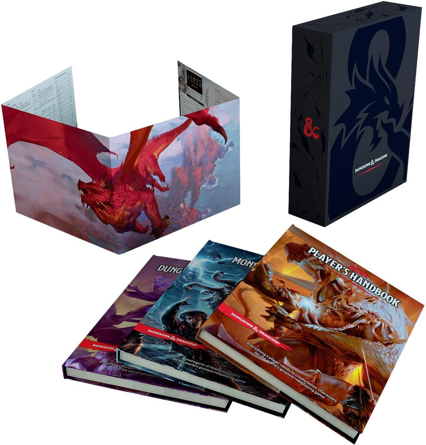 Dungeons & Dragons- Set de Regalo (Wizards of The Coast FEA31ECD4 ...