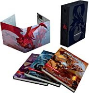 Dungeons & Dragons Core Rulebooks Gift Set (Special Foil Covers Edition with Slipcase, Player's Handbook, Dungeon Master's G