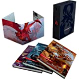 Dungeons & Dragons Core Rulebooks Gift Set (Special Foil Covers Edition with Slipcase, Player's Handbook, Dungeon Master's Gu