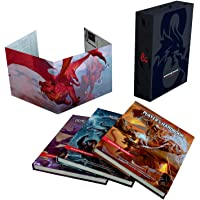 Dungeons & Dragons Core Rulebooks Gift Set (Special Foil Covers Edition with Slipcase, Player's Handbook, Dungeon Master…
