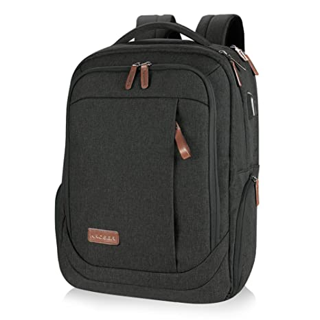 KROSER Laptop Backpack Large Computer Backpack for 15.6-17.3 Inch Laptop  with USB Charging Port a58b757ab7227