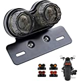 ANKIA 40-LED 40W Motorcycle Tail Light Integrated Running Lamp Brake&Turn Signal Light with License Plate Bracket for…