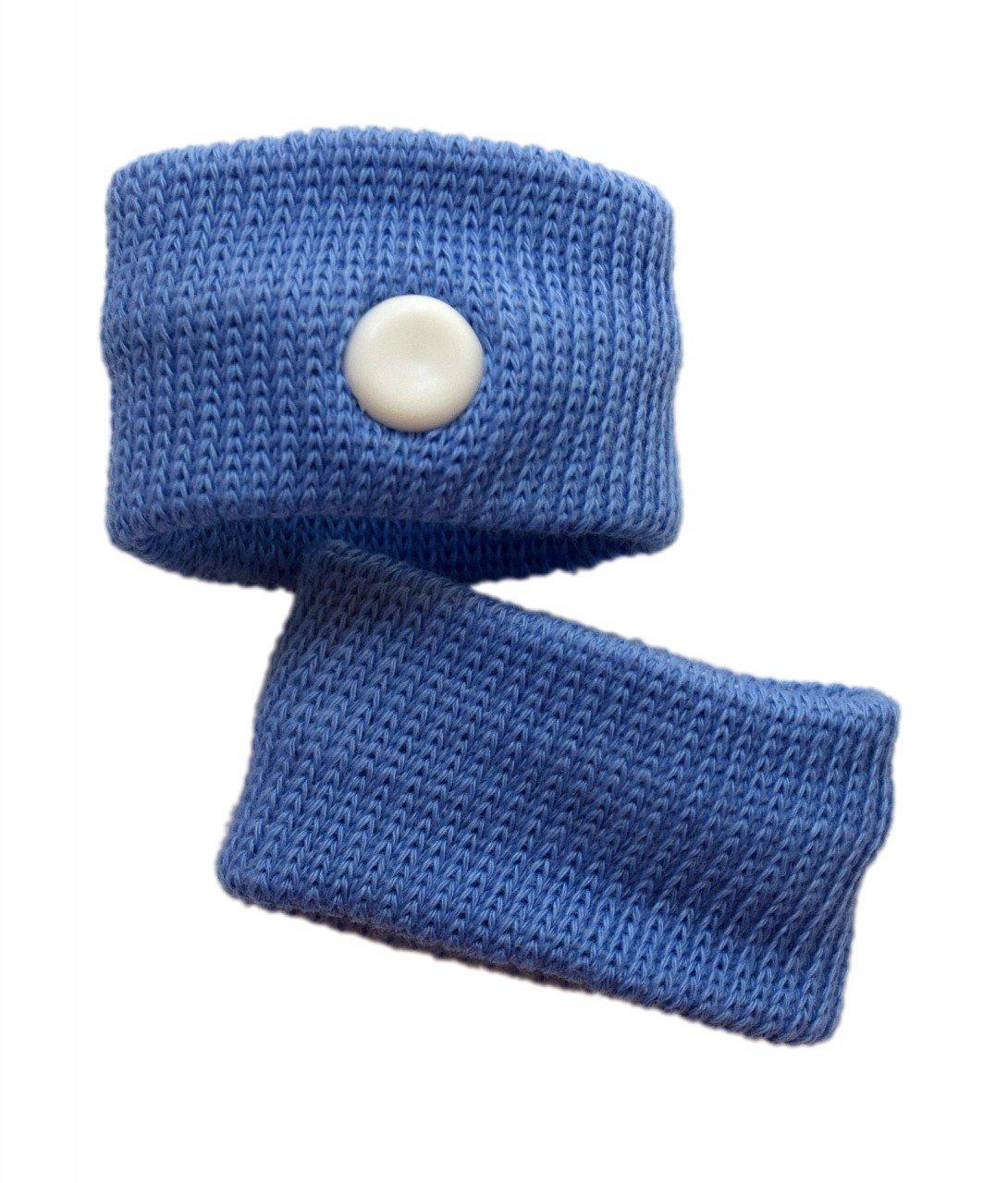 Kingken 2Pcs Nützliche wiederverwendbar Anti Übelkeit anti-nausea Armbänder für Reisen (blau)