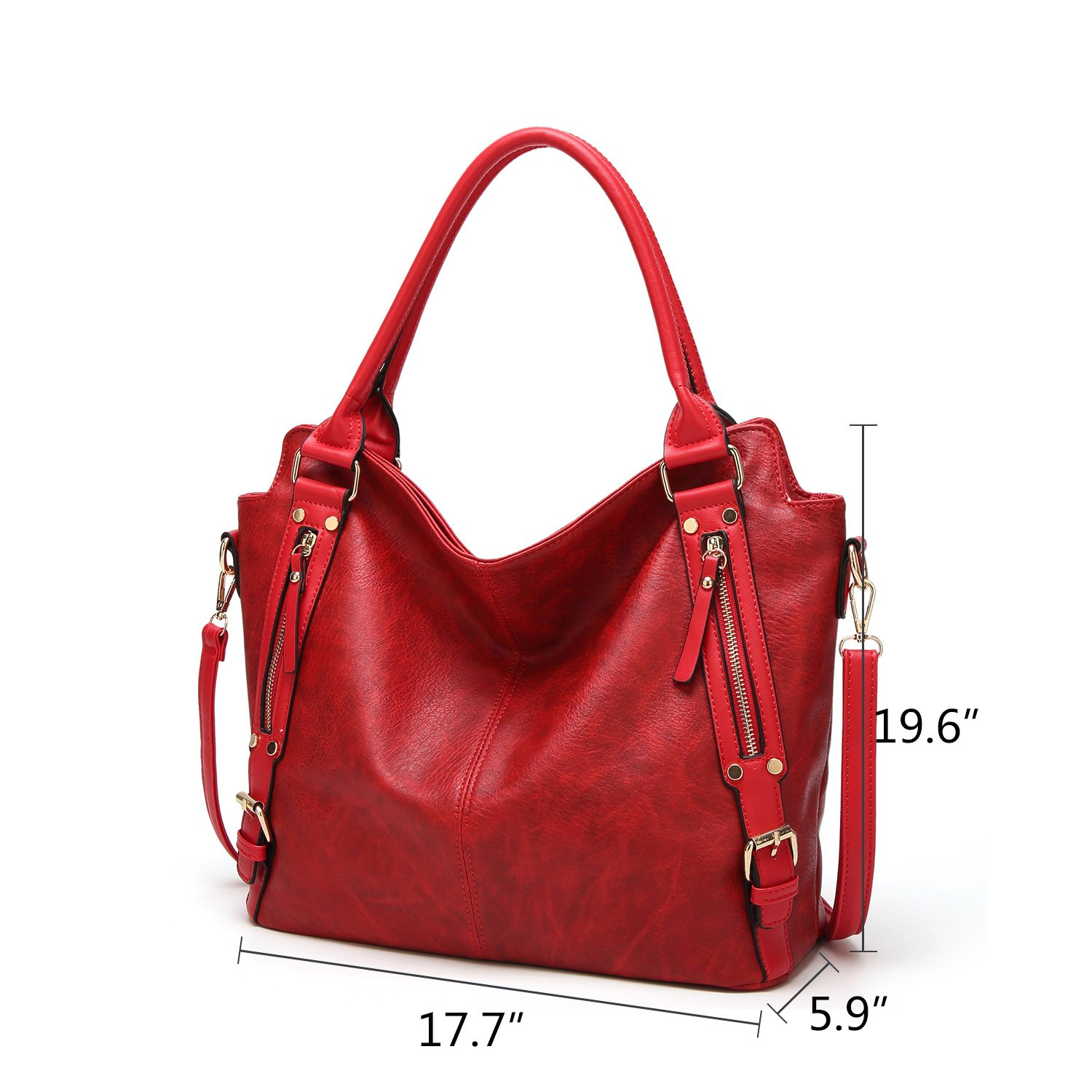 a8bbd6e055c1 Amazon.com: NOTAG Tote Handbags PU Leather Shoulder Bags Fashion ...
