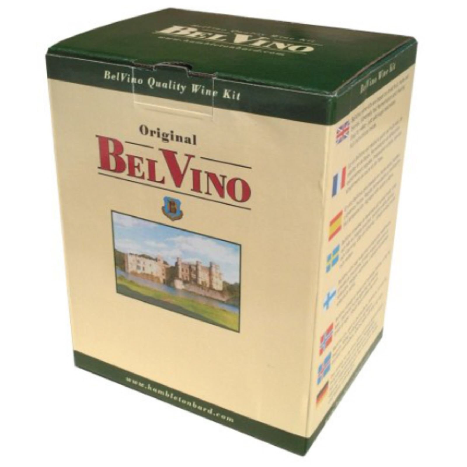 BelVino 7 Day Wine Making Kit Sherry Style White Wine 23L Fruit Included