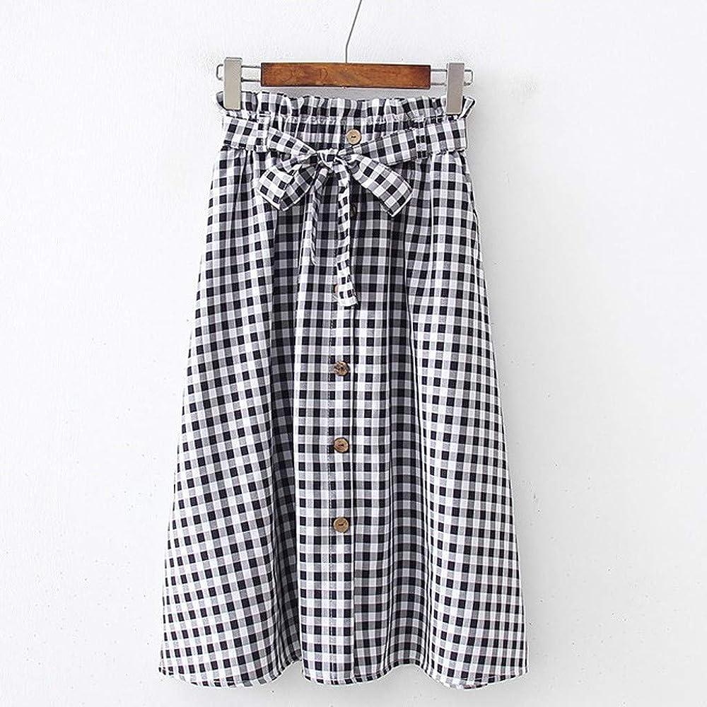 BASACA - Falda de Primavera de Verano para Mujer, niña o Mujer, a ...