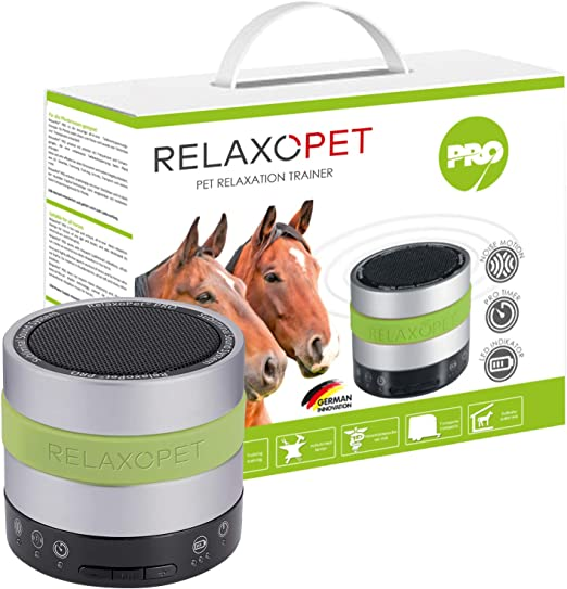 RelaxoPet PRO - Dispositivo de relajación para caballos (calma por ...