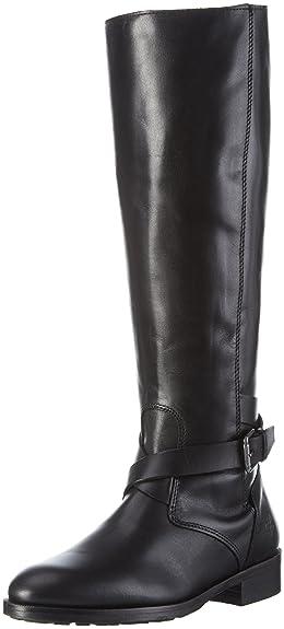 Marc O'Polo Stiefel - Botas Altas para Mujer, Color Negro (Black 990), Talla 42