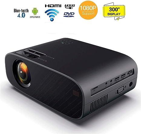 Hammer Video Proyectores, 6000 Lux Inicio proyector de película ...