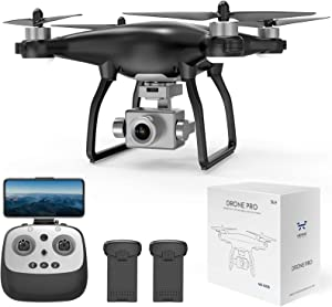 NEHEME NX35 2K GPS Drones with Camera for Adults, 5G FPV RC Camera Drone with Brushless Motor, 2 Batteries 40min-Upgrade, Auto Return Home, Advanced Selfie for Beginners