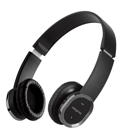 363cbd0cdaf Buy Creative WP-450 Wireless Bluetooth Headphone with Invisible Mic Online  at Low Prices in India - Amazon.in
