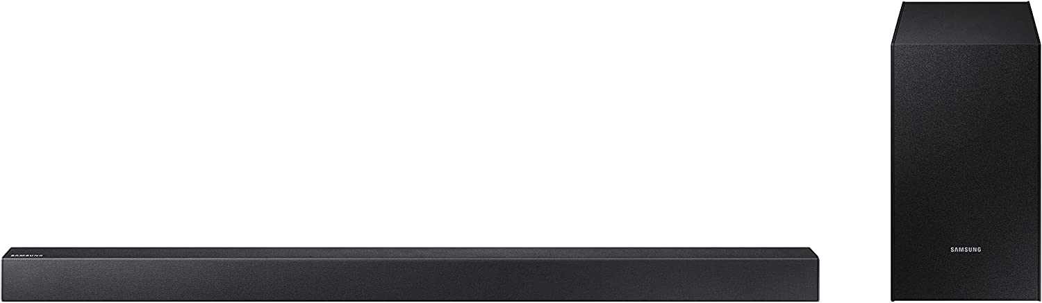 Samsung 2.1 Channel Bluetooth TV Soundbar with Wireless Active Subwoofer Home Theater System (Renewed)