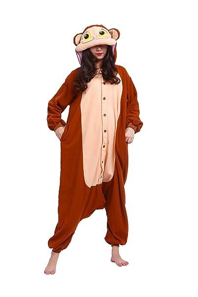 YUWELL Anime Onesie Kigurumi Cosplay Animales Trajes Disfraz Pijamas Pyjamas: Amazon.es: Ropa y accesorios