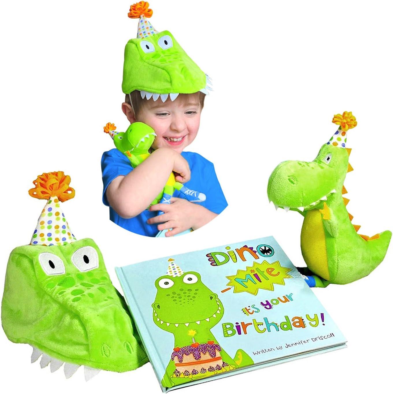 Amazon.com: Tickle & Main Dinosaurio regalo de cumpleaños ...