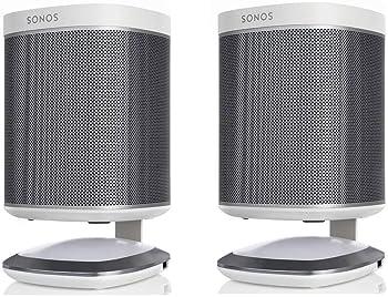 2-Pack Flexson Lighted Desktop Speaker Stands for Sonos PLAY 1
