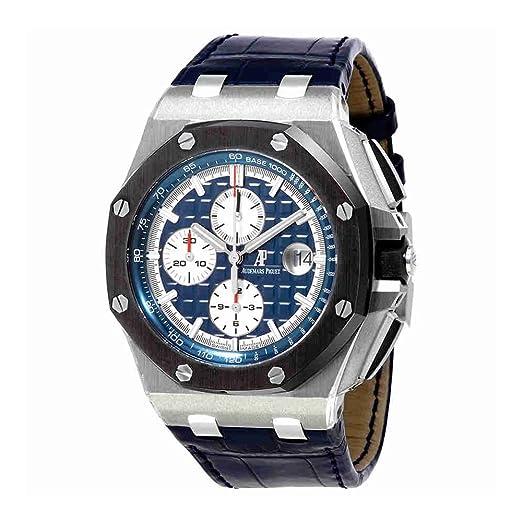 Audemars Piguet AP Royal Roble Offshore Cronógrafo 44 mm Platinum reloj 26401PO. OO. A018CR. 01: Audemars Piguet: Amazon.es: Relojes