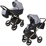 knorr baby premium kombi kinderwagen set life sand mokka baby. Black Bedroom Furniture Sets. Home Design Ideas