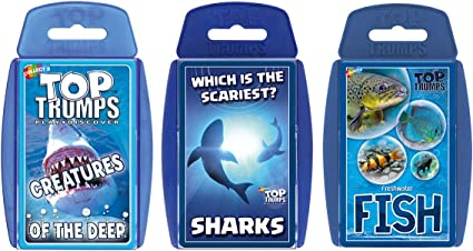 Creatures of the Deep Card Game Top Trumps