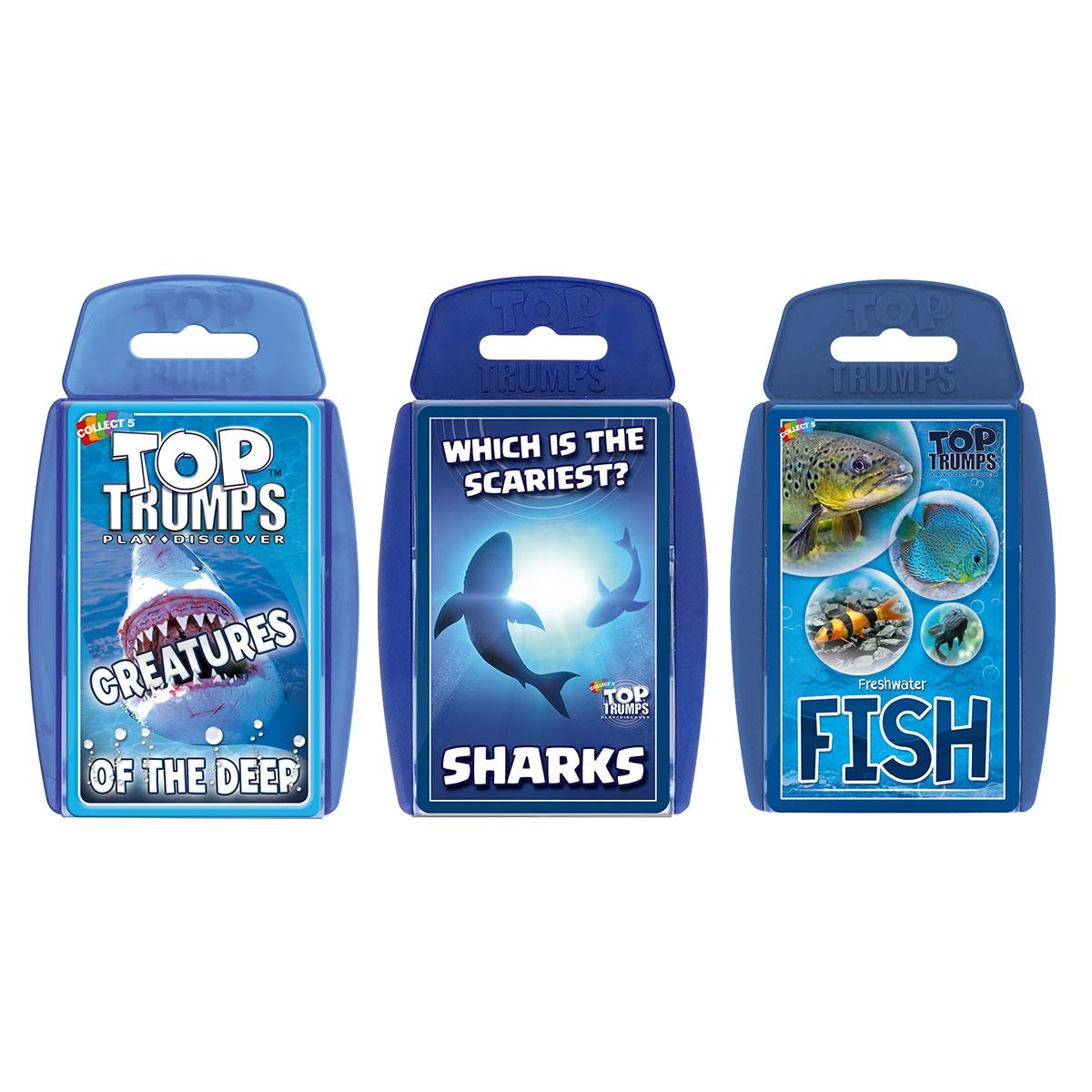 Top Trumps Sea Life Card Game Bundle