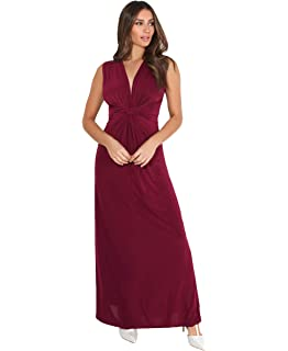 KRISP Vestido Fruncido Plisado Moda: Amazon.es: Ropa y accesorios
