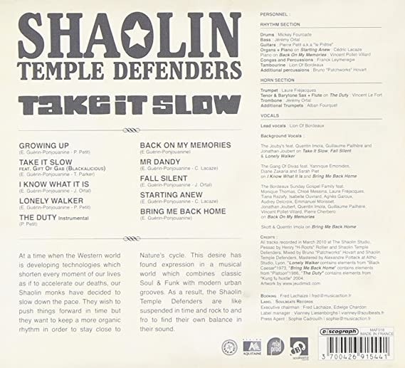 Buy Shaolin Temple Defenders: Take It Slow Online at Low