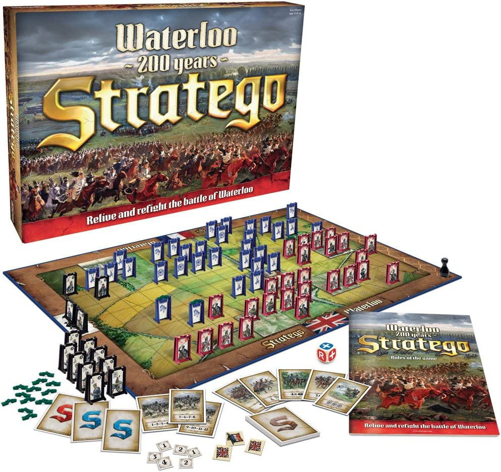 Stratego Waterloo Board Game by Stratego: Amazon.es: Juguetes y juegos