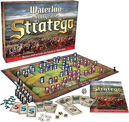 Stratego Waterloo Board Game by Stratego: Amazon.es: Juguetes y juegos