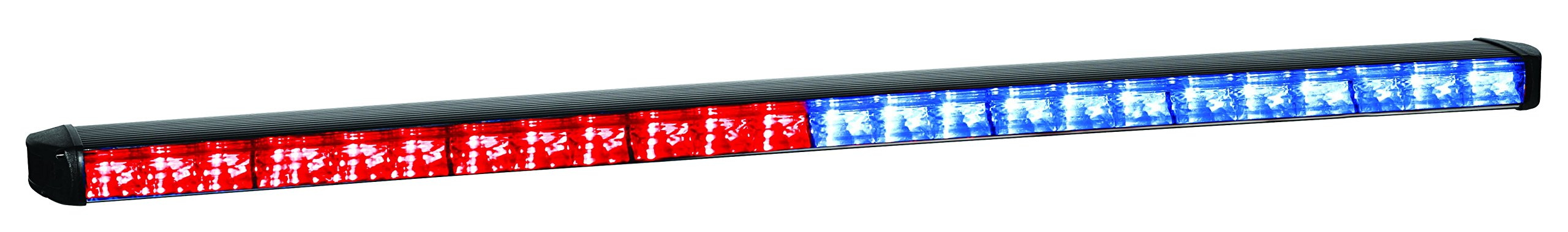 Federal Signal SL8F-RB Latitude Warning Light, Black Housing Red and Blue LEDs, 8 LED Heads