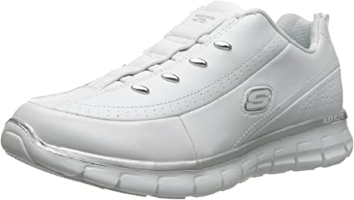 Skechers Damen Silber Turnschuhe & Sportlich Schuhe
