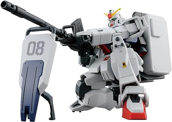 Bandai Hobby-HGUCRX-79[G] Ground Type Gundam 08 MS Equipo, color ...