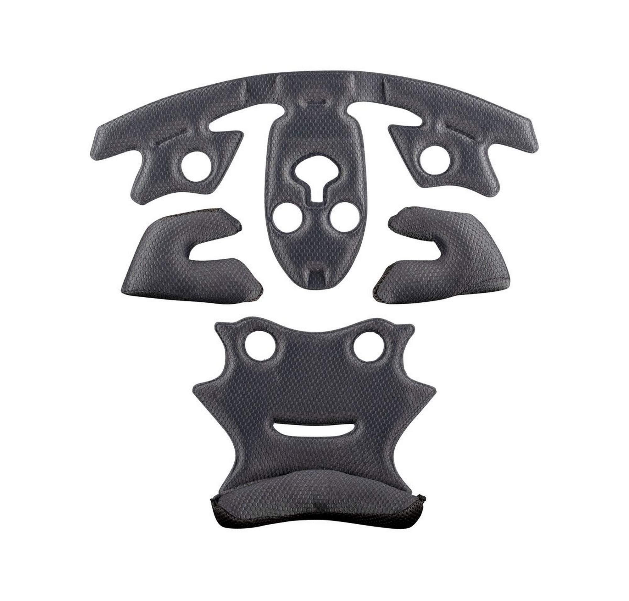 Leatt DBX 4.0 Inner Liner Kit Off-Road Motorcycle Helmet Accessories - Grey/Large by Leatt Brace