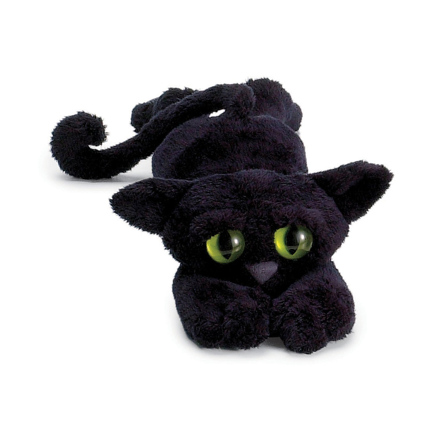 Small black cat soft toy