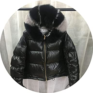 f20f78c4af95 Large Real Winter Jacket Women Down Parkas Coats Hooded White Duck Down  Jacket Waterproof Coat