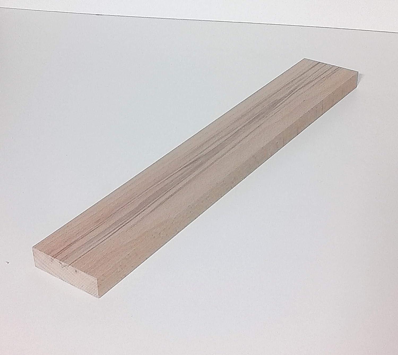 Sonderma/ße 100mm breit 1 St/ück 23mm starke Holzleisten Kanth/ölzer Bretter Kernbuche massiv 23x100x250mm lang.