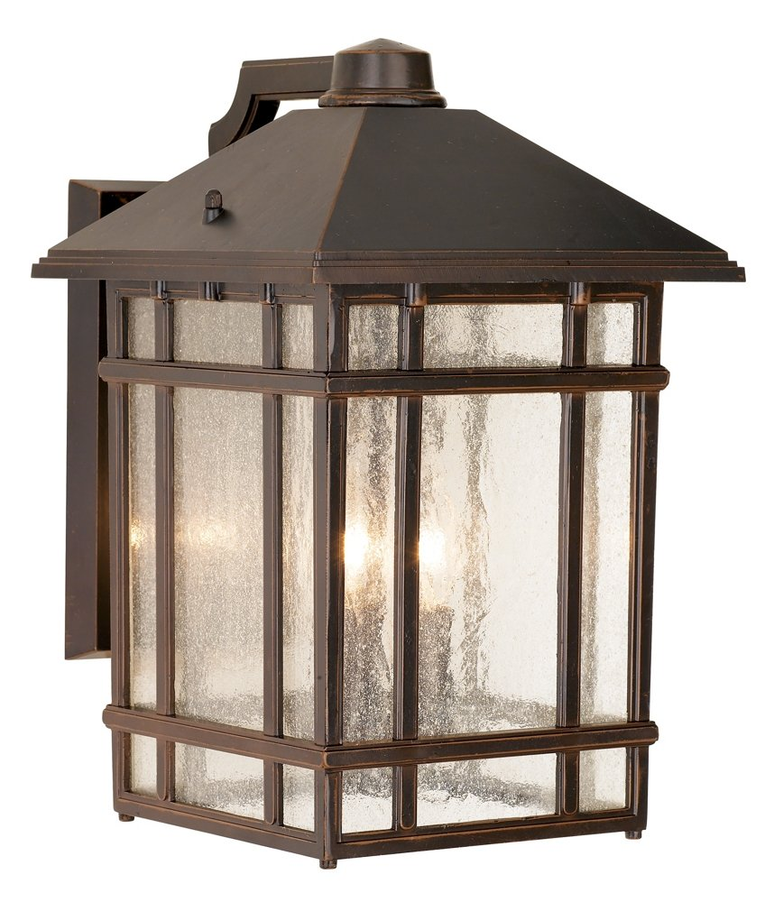 J du J Sierra Craftsman 15'' High Outdoor Wall Light