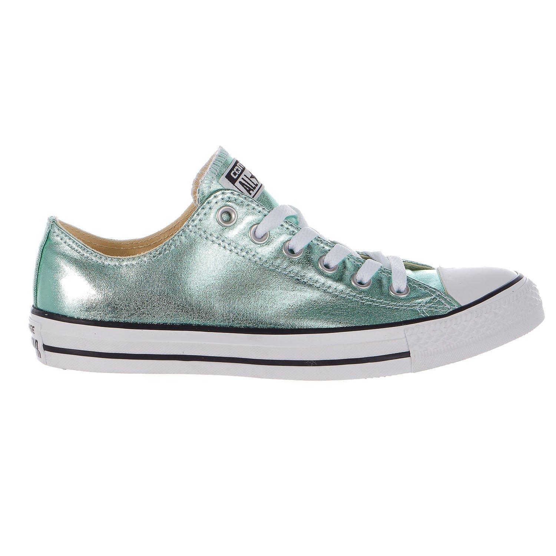 CONVERSE Designer Chucks Schuhe - ALL STAR -  Medium/43 EU B(M)|Medium Green/Jade/Black/White 9460