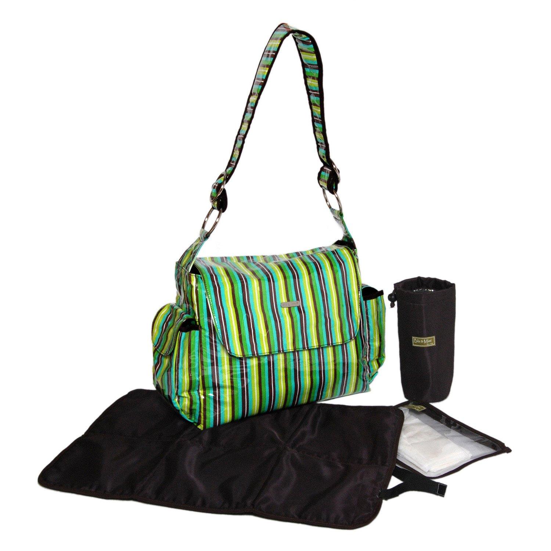 【感謝価格】 Bibi Mimi Bag, And Mimi B0028Y4B2E Diaper Bag, Stripes Green by Bibi & Mimi B0028Y4B2E, ギフトショップ HERA:b82571d8 --- hohpartnership-com.access.secure-ssl-servers.biz