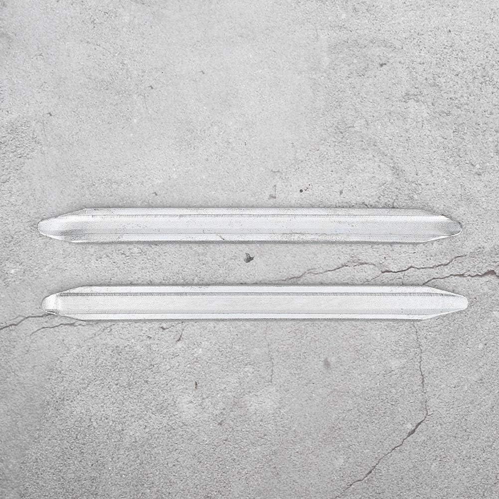 set di attrezzi per la riparazione del piede di porco per strumento di riparazione di pneumatici per auto in ferro da motociclista professionale da 2 pezzi EBTOOLS Piede di porco in gomma