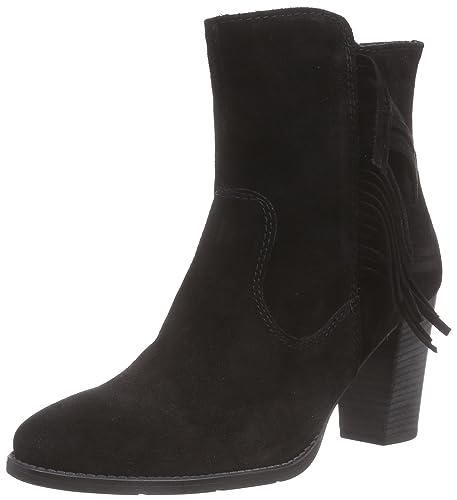 Tamaris 25881, Damen Kurzschaft Stiefel, Schwarz (Black 001), 40 EU
