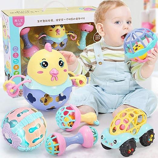 ZaiQu Juguetes educativos para niños 0-1 años de Edad Bebé ...