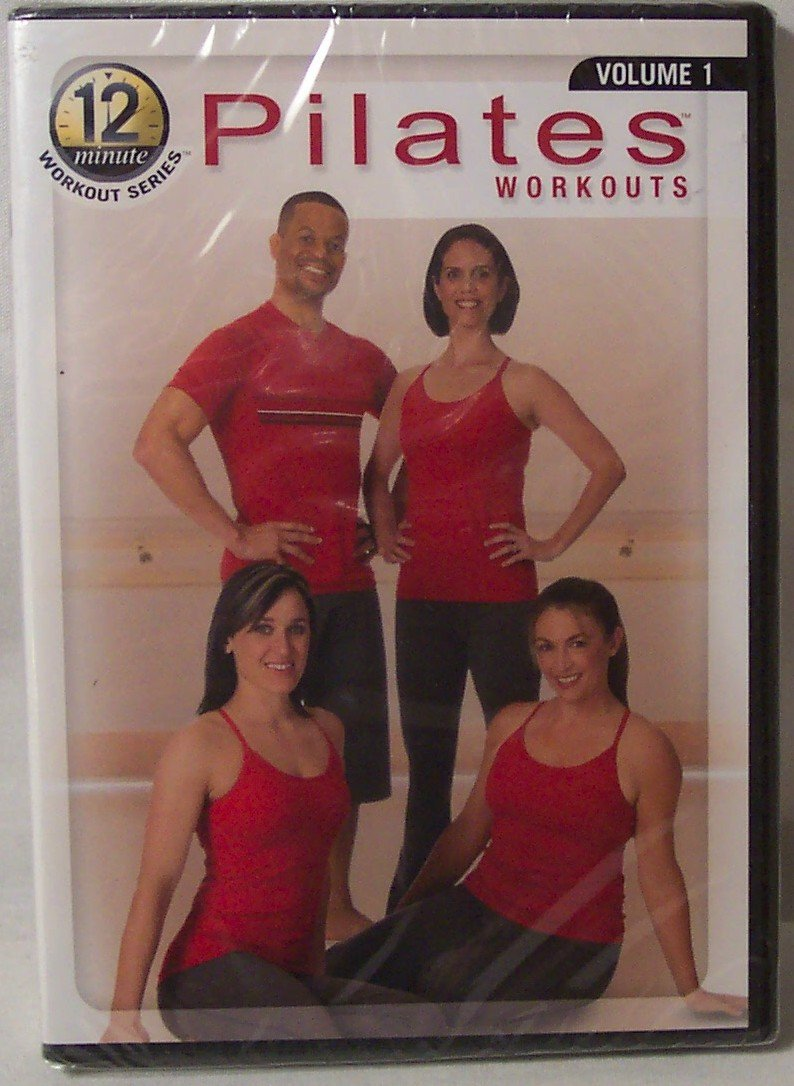 Pilates Workouts, 12 Minute Workout Series, Volume 1, 4 Complete Workouts (Pilates Essentials, Ultimate Abs, Total Body Burn, Firm and Burn), The Food Lovers Fat Loss System with Ferguson/Field, DVD