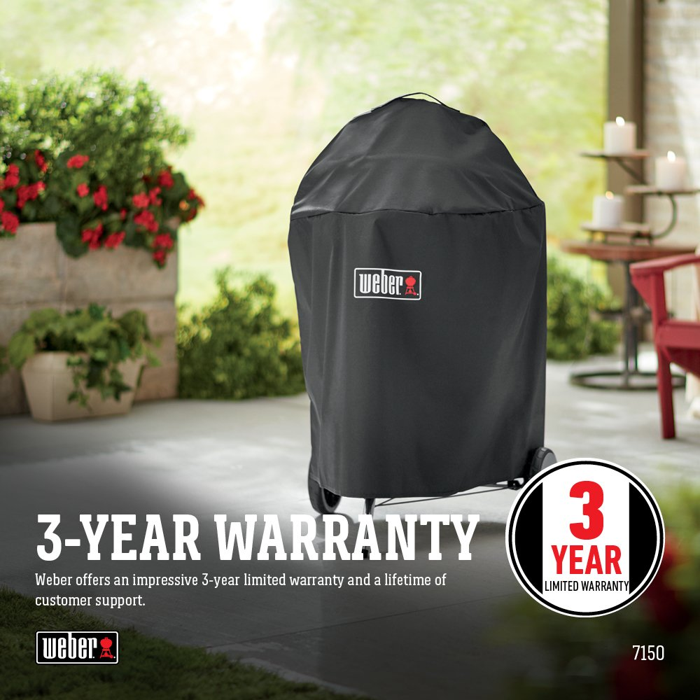Weber Premium 22 inch Charcoal Grill Cover by Weber