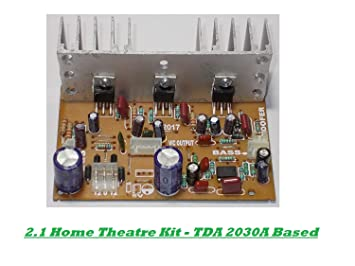Zigshash 2.1 Ch TDA 2030 Home Theater Amplifier Board on