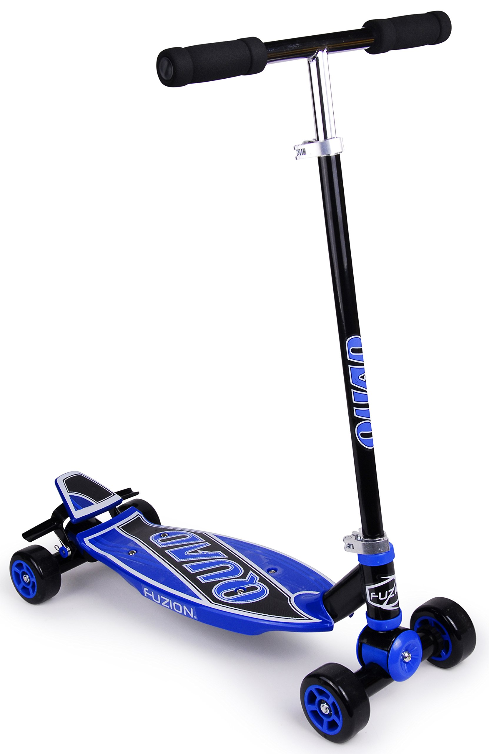 Fuzion Quad 4 Wheel Carving Kids Scooter